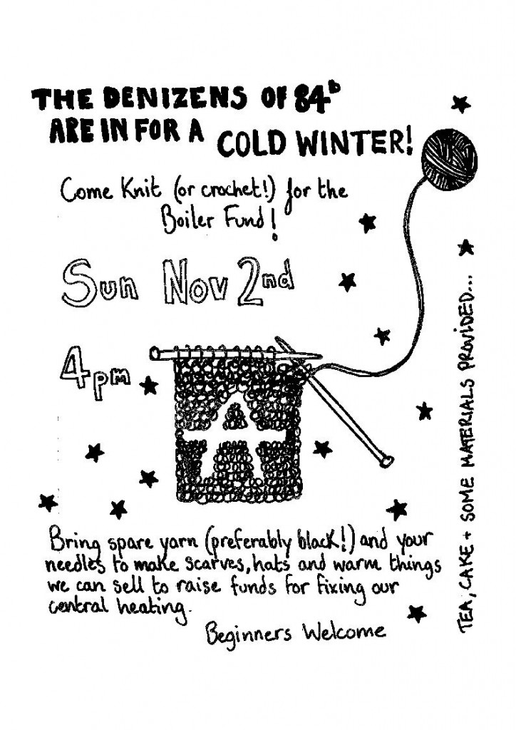 Knit for Freedom flyer!